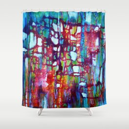 Cosmic Entanglement Shower Curtain