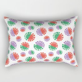 Tropical Tassels Rectangular Pillow