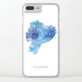 Ecuador Clear iPhone Case
