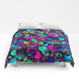 Bright polka dot 6 Comforters