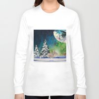 rabbit Long Sleeve T-shirts featuring Rabbit by Cs025
