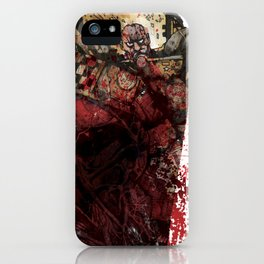 INTO THE PIT Fucking Blood iPhone Case