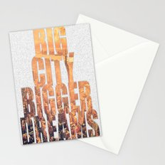 Big City Dreams Stationery Cards
