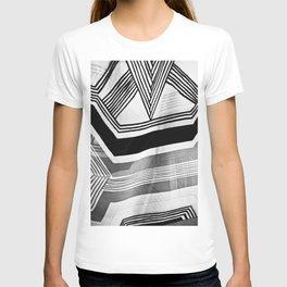 Modern Zebra Abstract T-shirt