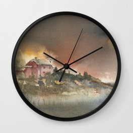Marquette Lighthouse Wall Clock