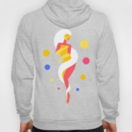 Funky Universe Colorful Lady Hoody