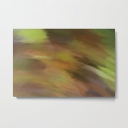 Abstract Earth Camo Shades.  Like painted on canvas. Metal Print