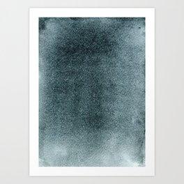 Grey Green Mist Art Print