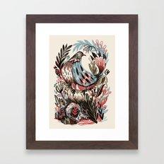 Build Framed Art Print
