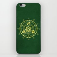 triforce iPhone & iPod Skins featuring Zelda Triforce  by DavinciArt