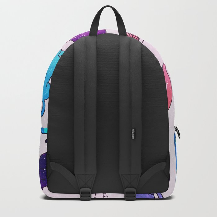 Space Cats Pattern Backpack