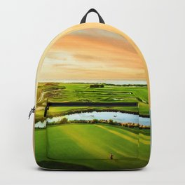 Golfing at the 'Gong Backpack