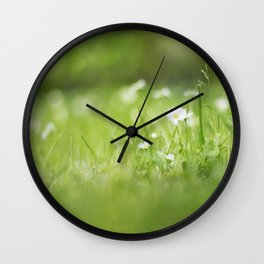 Flora calling Wall Clock