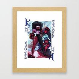 Knight of Crowns Framed Art Print