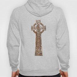 Wooden Celtic Cross Hoody