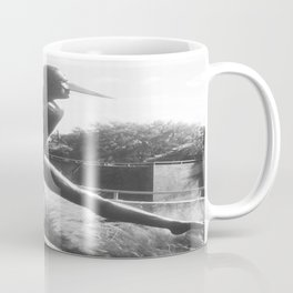 """The """"Wings of the City"""" sculpture exhibit by Mexican Artist Jorge Marín 4 Coffee Mug"""