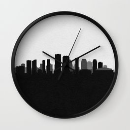 City Skylines: New Orleans Wall Clock