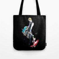 durarara Tote Bags featuring Heiwajima Shizuo 1 by Prince Of Darkness