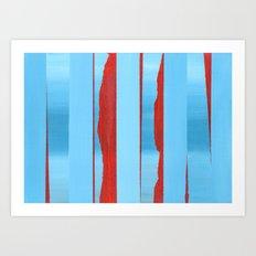 Blue Edge - Original Painting Art Print
