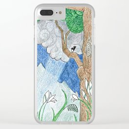 Coming Storm Clear iPhone Case