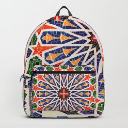ARTERESTING V47 - Moroccan Traditional Design Backpack