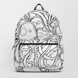 Many Monsters Backpack