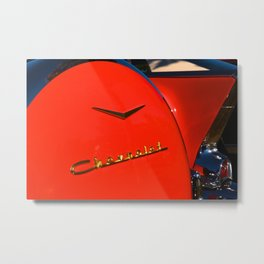 see the u.s.a. in your chevrolet Metal Print
