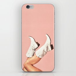 These Boots - Pink iPhone Skin