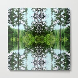 Arboretum Metal Print