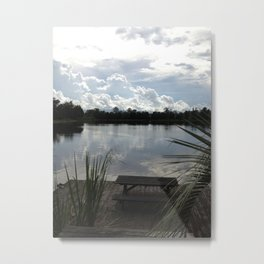 The Country House Metal Print