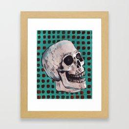 Skull 1974 Framed Art Print
