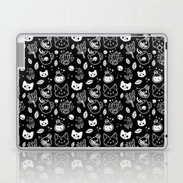 Herb Witch // Black & White Laptop & iPad Skin