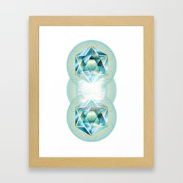 Sacred Circles Framed Art Print
