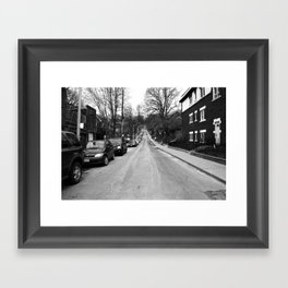 Off Queen - Willow Avenue - North Framed Art Print