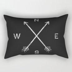 Compass Rectangular Pillow