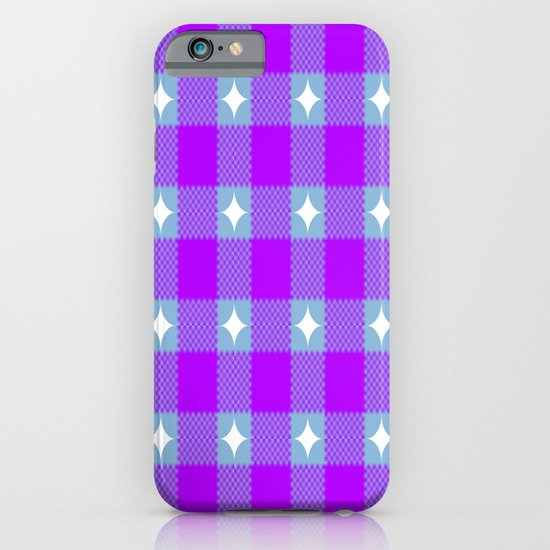 Starry Blurple Plaid iPhone & iPod Case