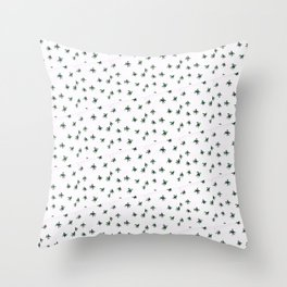 Lots of spiders pattern Throw Pillow