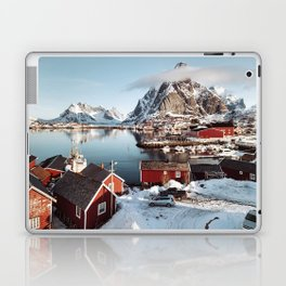 reine at lofoten Laptop & iPad Skin