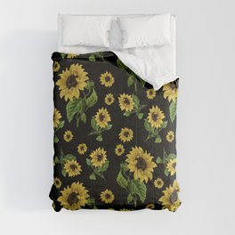 Sunflowers pattern Comforters