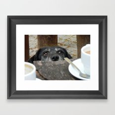 Caffeine Fix Photo Framed Art Print