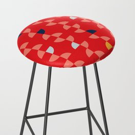 Geometric Pattern #2 Bar Stool
