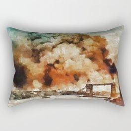 The Blitz, London, WWII Rectangular Pillow