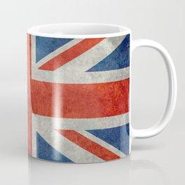 "UK British Union Jack flag ""Bright"" retro Coffee Mug"