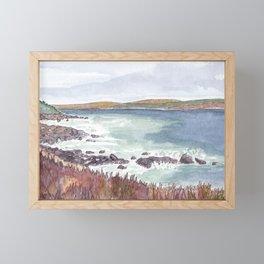 Herring Cove Look-Off North McNabs Island Halifax NS Framed Mini Art Print