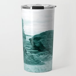 Shaped By The Sea - Turquoise Palette Travel Mug