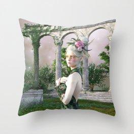 Bereft of Love Throw Pillow