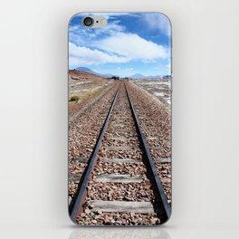 Bolivian Rail Track  iPhone Skin