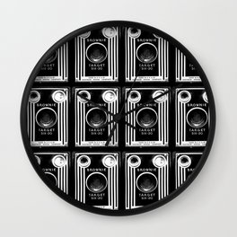 Ben-Day Kodak Brownie Camera  Wall Clock