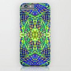 Tribal green Slim Case iPhone 6