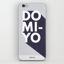 Domio-Yo: Indigo Series iPhone Skin